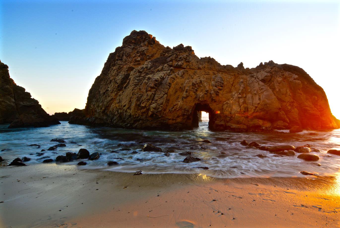 Keyhole Arch