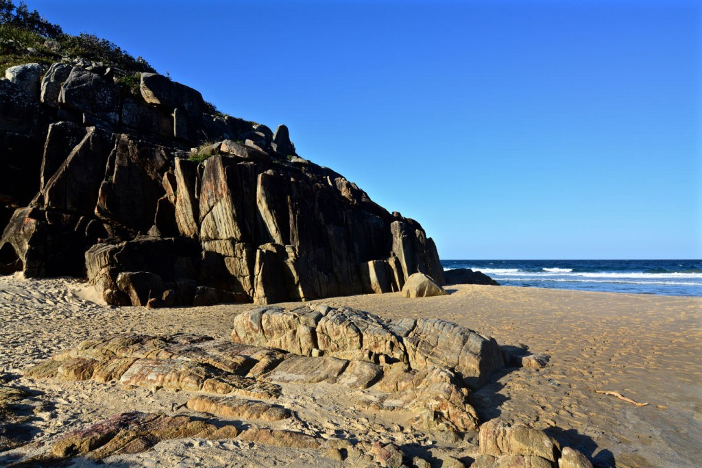Rocks at Little Bay
