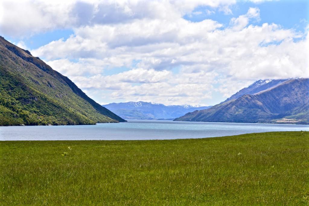 Lake Wakatipu next to Queenstown