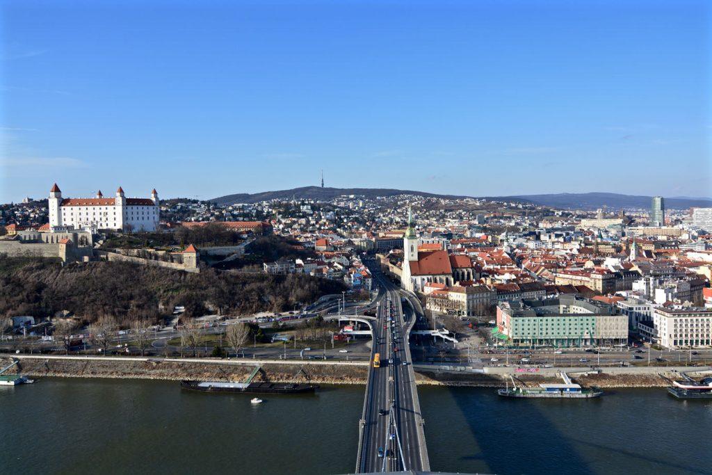 Bridge Bratislava Observation Deck