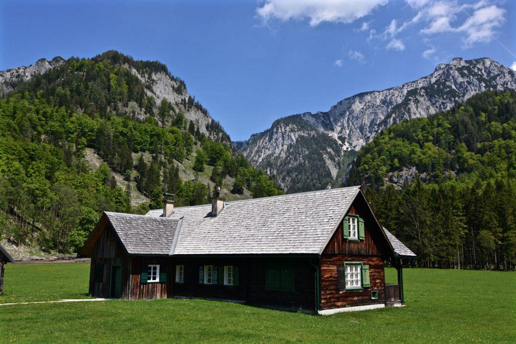 Hut near Hochblaser