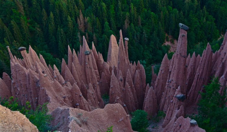 Earth pyramids South Tyrol