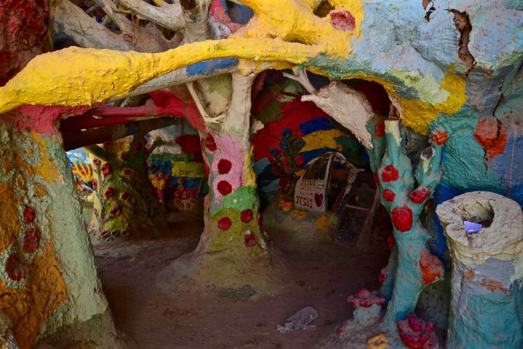 Inner life of Salvation Mountain