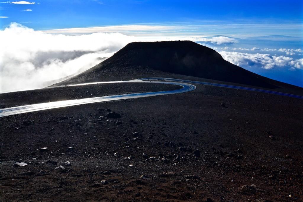 Road up to Haleakala