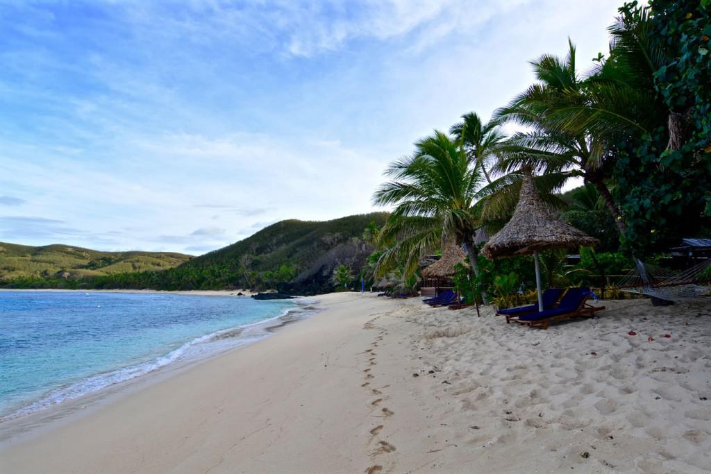 Beach at Waya Island