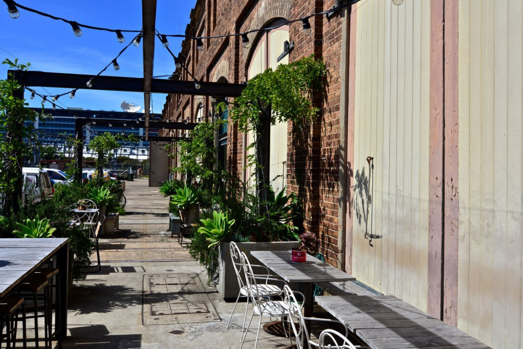 Patio at Carriageworks