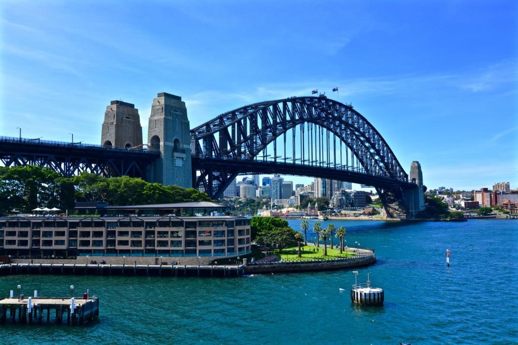 Harbour Bridge from Overseas Passenger Terminal