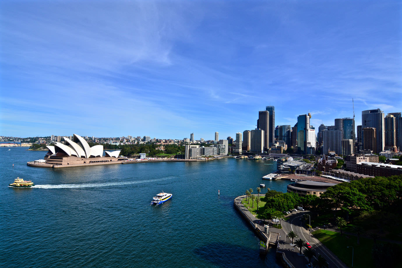 Skyline from Harbour Bridge