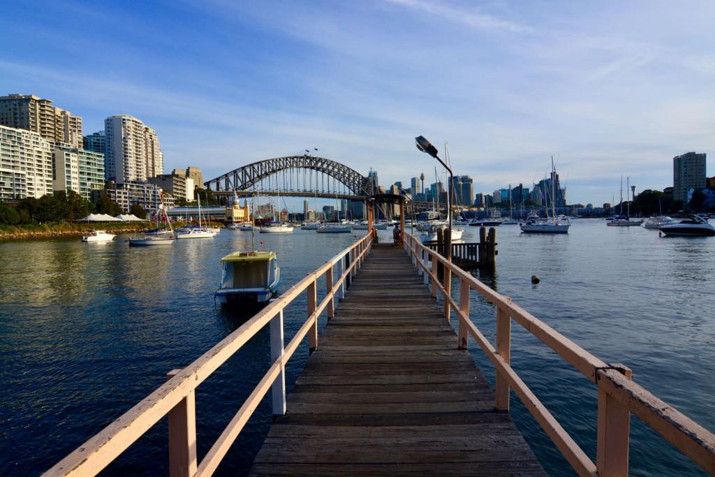 Jetty at Harbour Bridge