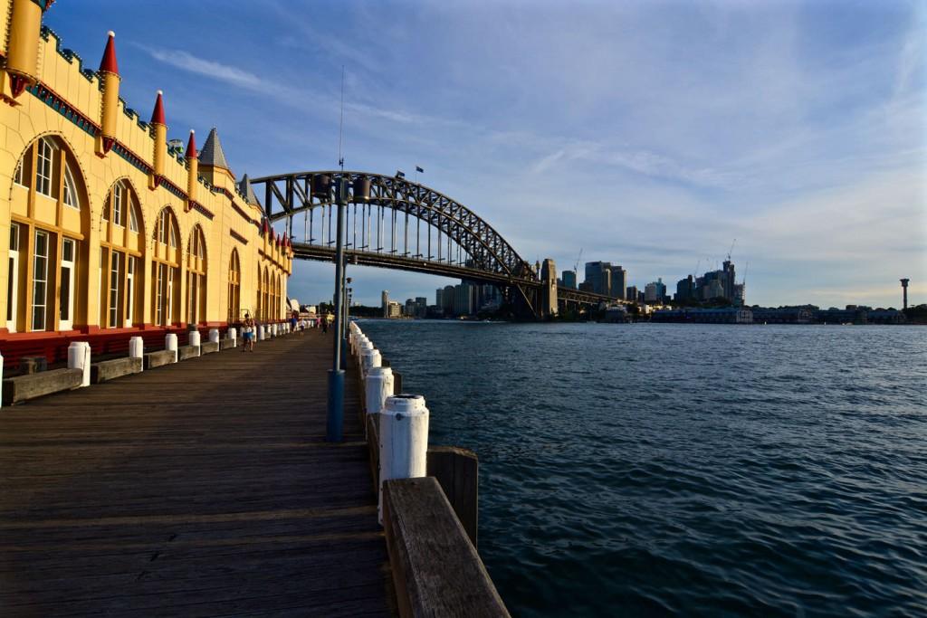 Pier at Harbour Bridge
