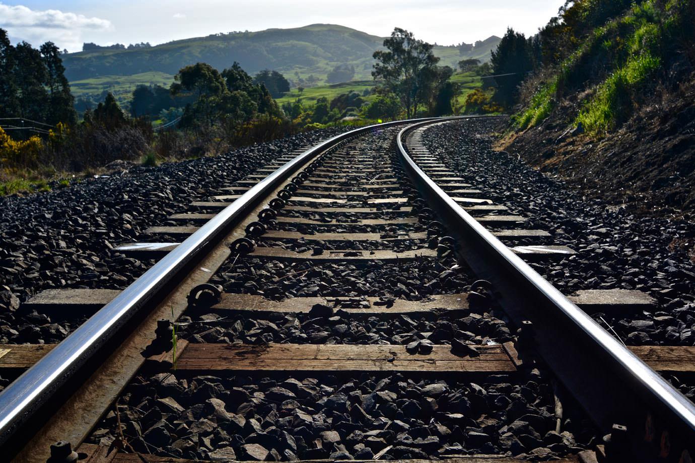 Rails near Dunedin