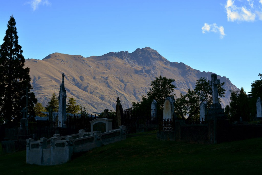 Graveyard at Queenstown
