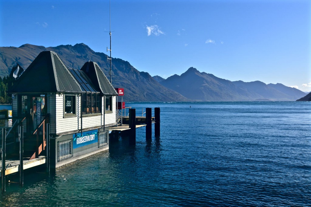 Boathouse near Queenstown