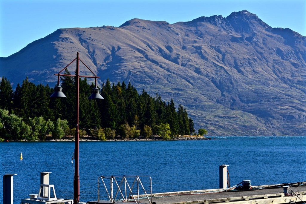 Harbour at Queenstown