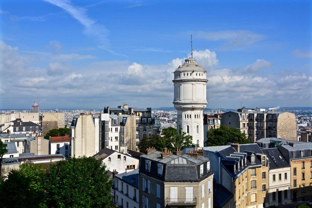 View from Sacre Cœur