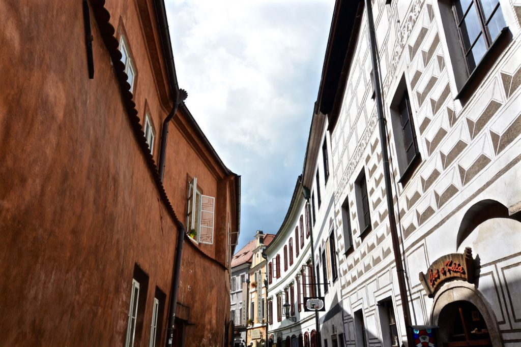 Krumlov oldtown