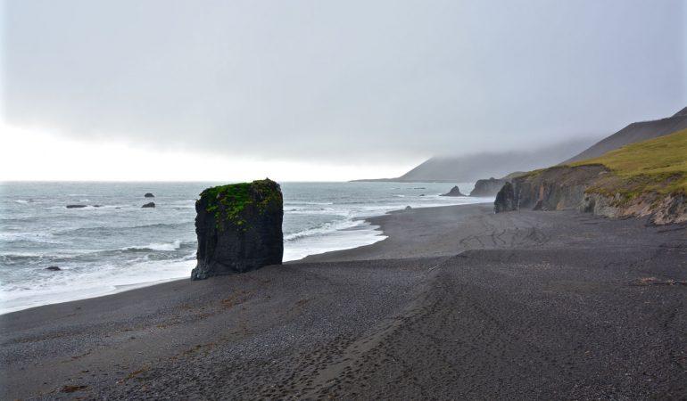 Black Monolith Beach