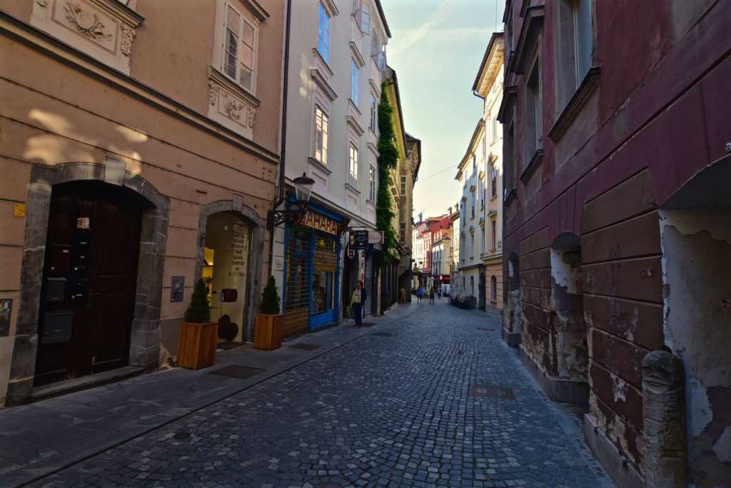 street, old town