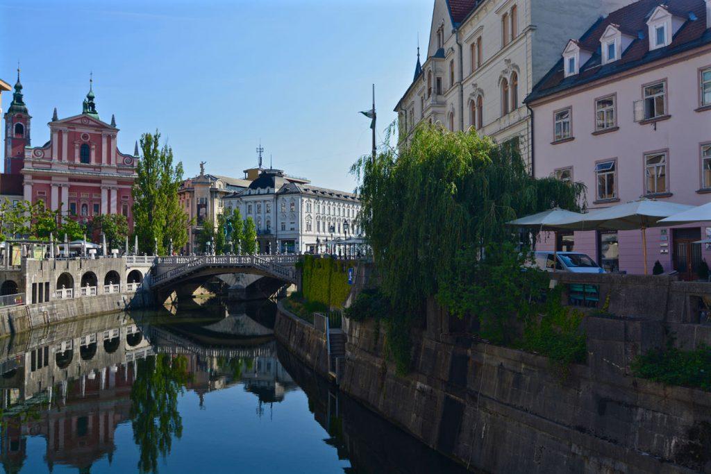 Ljublanica, bridge, river