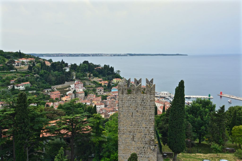 Piran castle