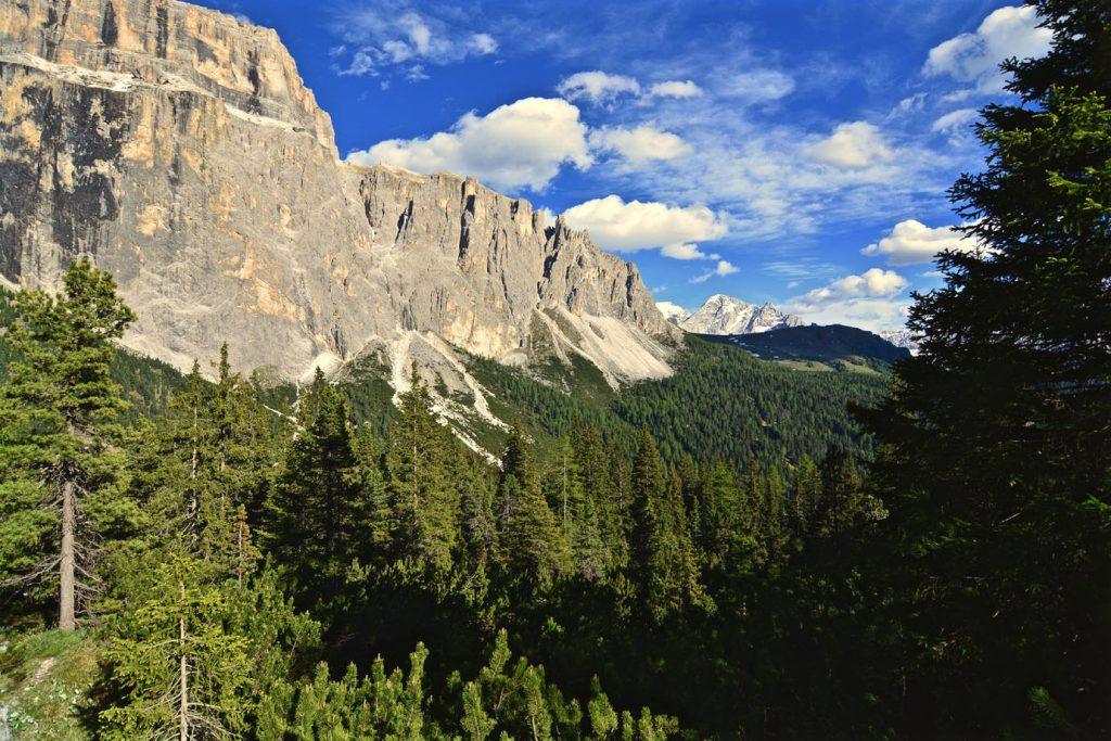Karersee Mountains Italy